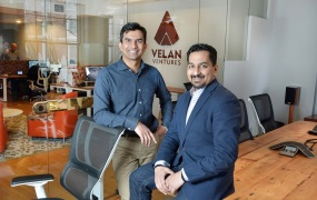 Velan Studios founders Guha Bala, left, and Karthik Bala.