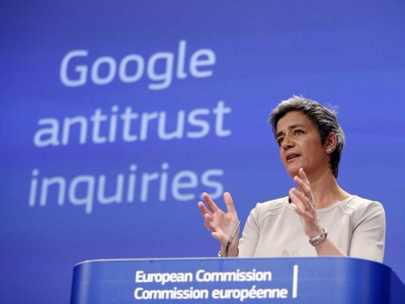 EU reappoints top antitrust cop who led crackdown on tech giants