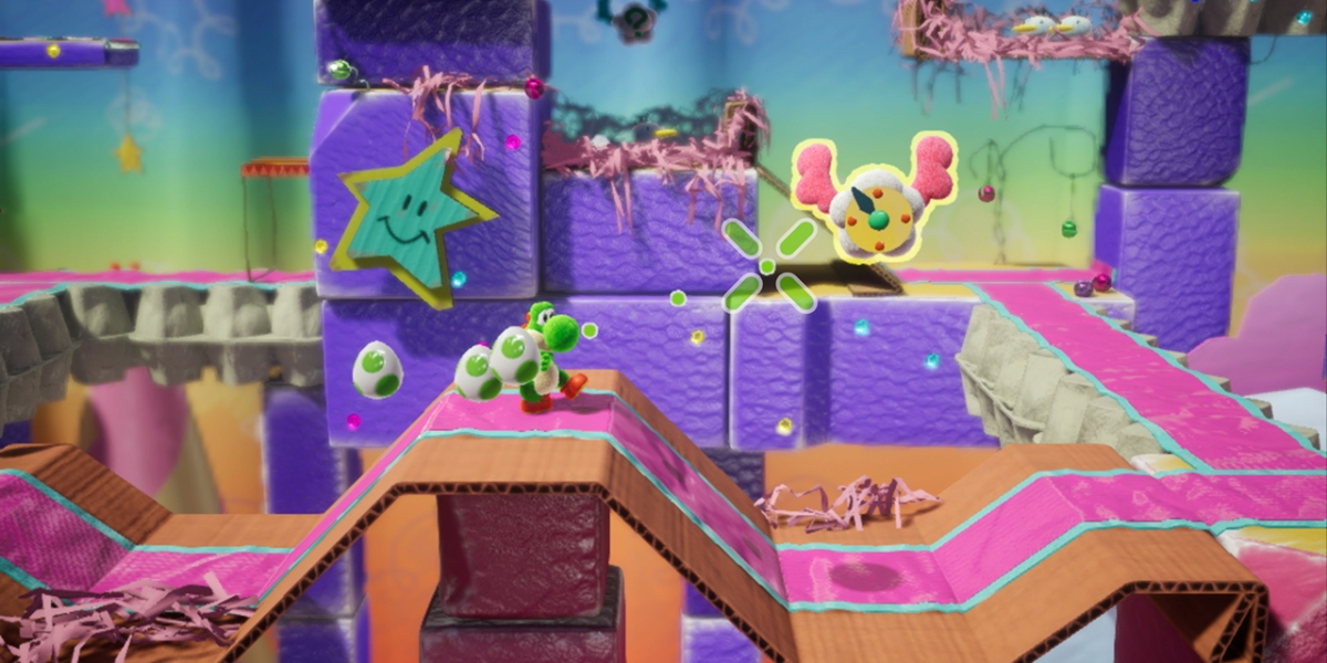 Yoshi's back for another underwhelming adventure.