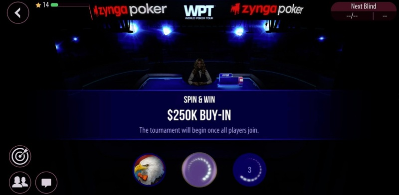 Zynga Poker launches new spin-and-win mode in World Poker Tour