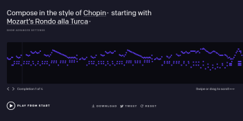 OpenAI's MuseNet AI generates novel 4-minute songs with 10 across a range of genres and styles