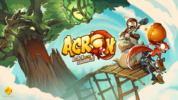 Acron is a new VR game from the creator of Angry Birds VR: Isle of Pigs.