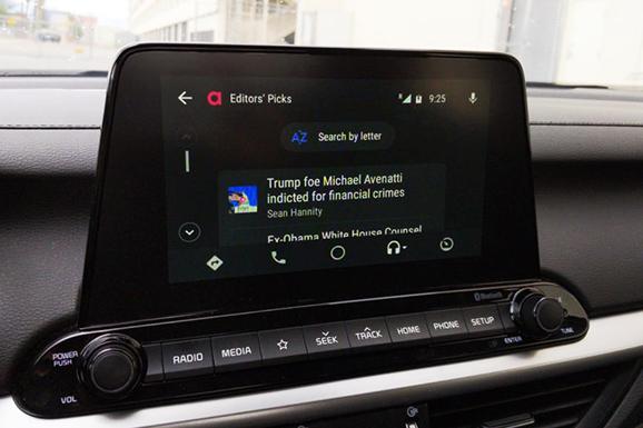 Audioburst In Car