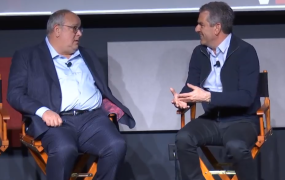 """""""The Wisdom of Owning Game Studios"""" with David Haddad, President of Warner Bros. Interactive Entertainment and moderated by Mike Vorhaus of Vorhaus Advisors - Details - Boss Stage"""