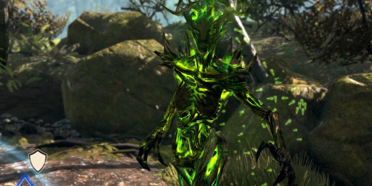 Fighting monsters in Elder Scrolls: Blades