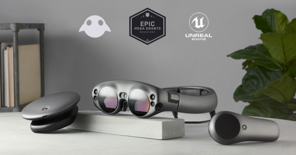Epic is partnering with Magic Leap to give away some of its AR headsets.