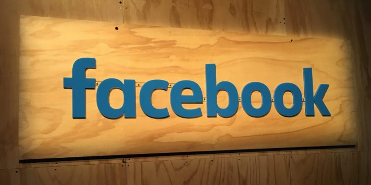 Facebook signage at 2016 F8 conference in San Francisco.