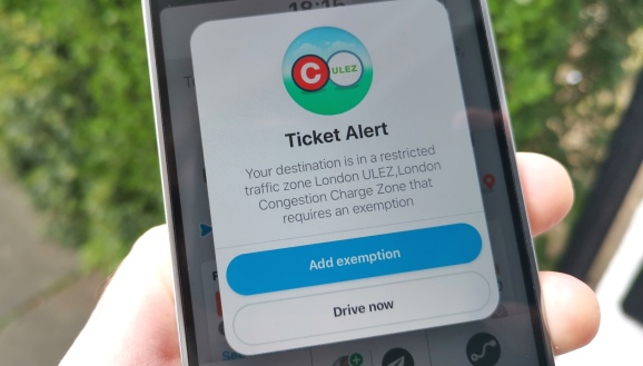 Waze has integrated with TfL's new ULEZ traffic pollution system in London