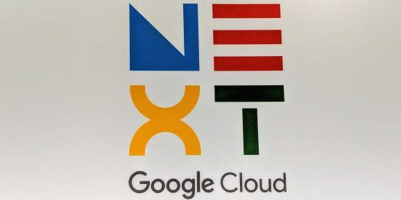 Google Cloud Next 2019 logo