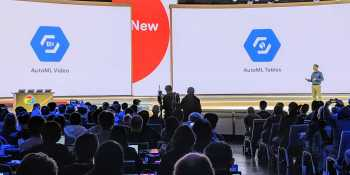 Google debuts AutoML Video and AutoML Tables for structured data