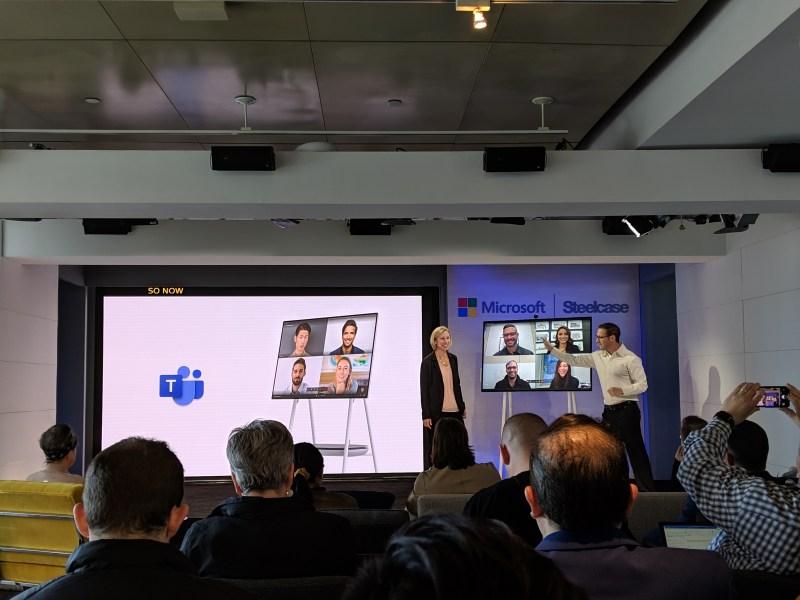 Microsoft's Surface Hub 2S starts at $8,999, ships in June | VentureBeat