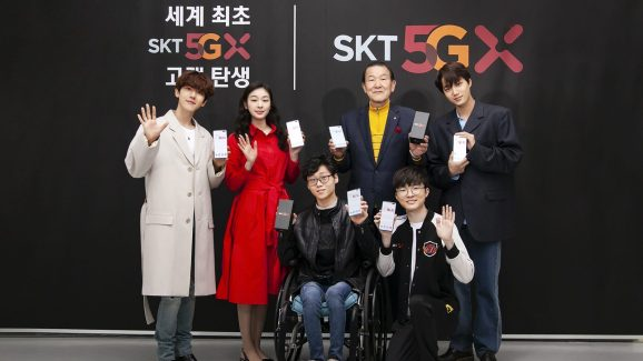SK Telecom claims that it signed up the world's first 5G smartphone subscribers, despite Verizon's surprisingly early launch of mobile 5G services.