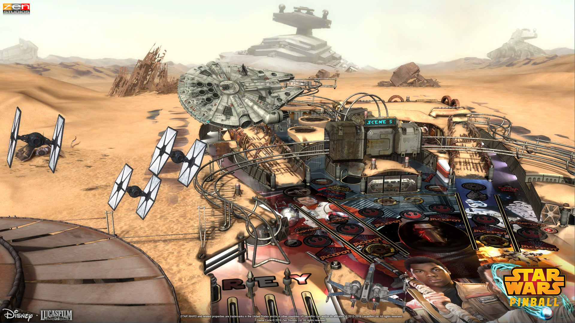 Star Wars Pinball is bouncing its way to Switch | VentureBeat