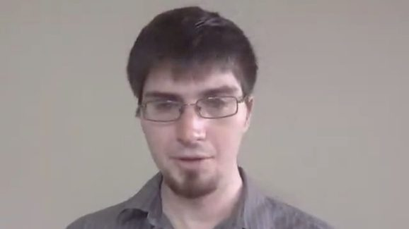 Ian Goodfellow, seen at Google in 2015.