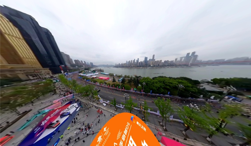 , China joins 5G race with 8K 3D livestream of 30,000-person marathon, Next TGP