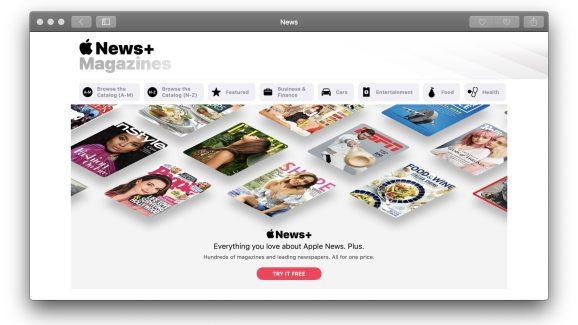 Apple News+.