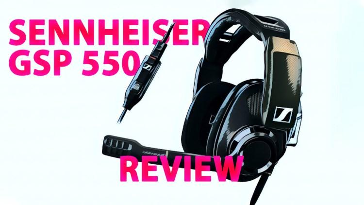 The Sennheiser GSP 550 headset.
