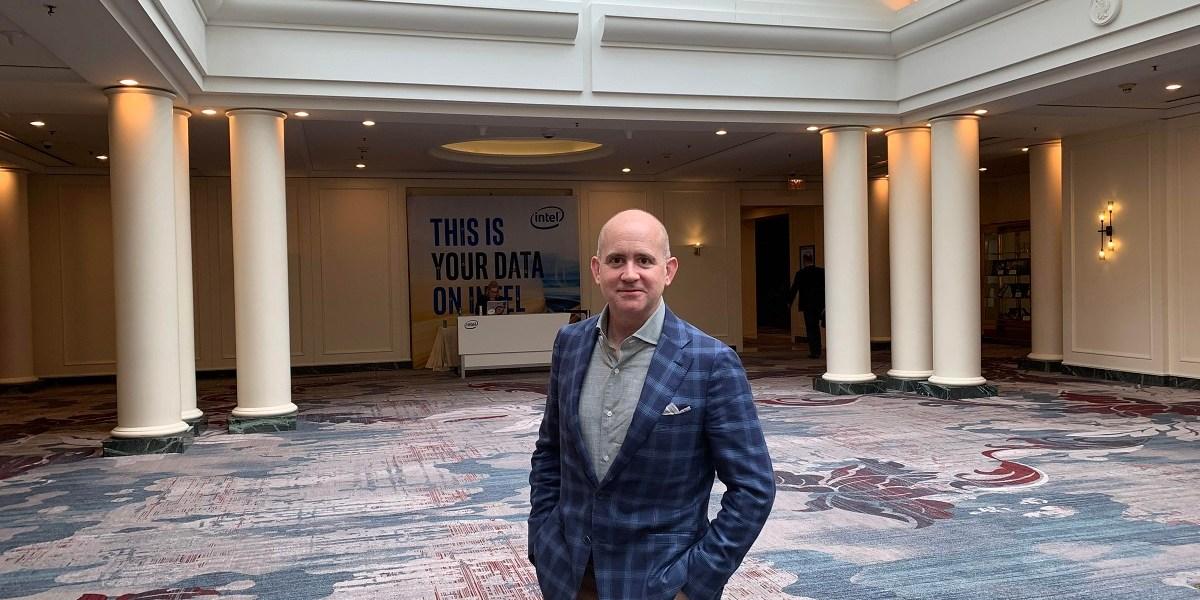 Jonathan Ballon runs the IoT business at Intel.