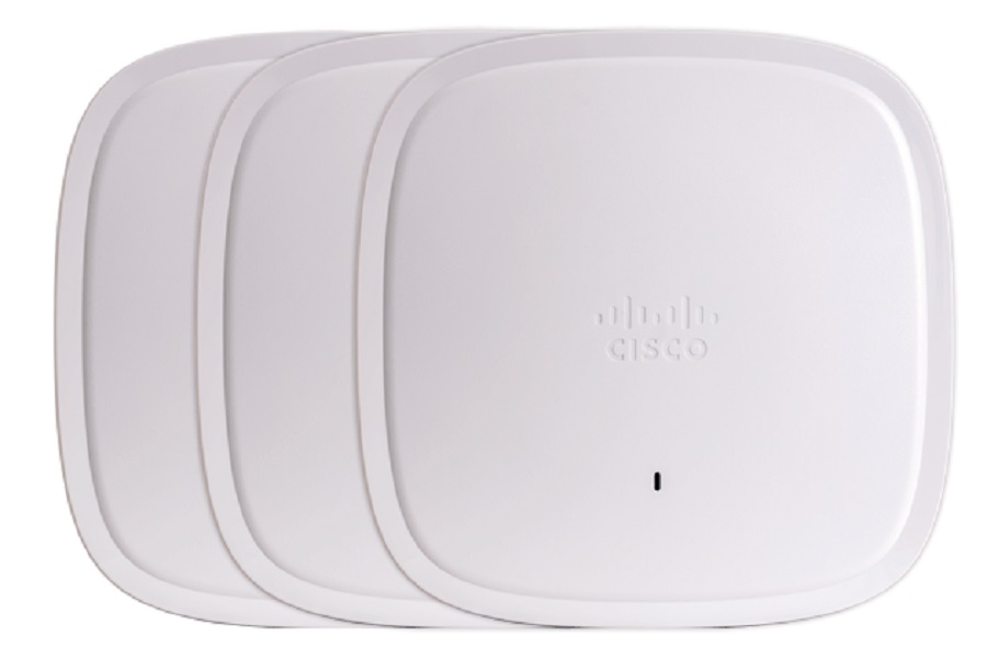 Cisco's new WiFi 6 routers.