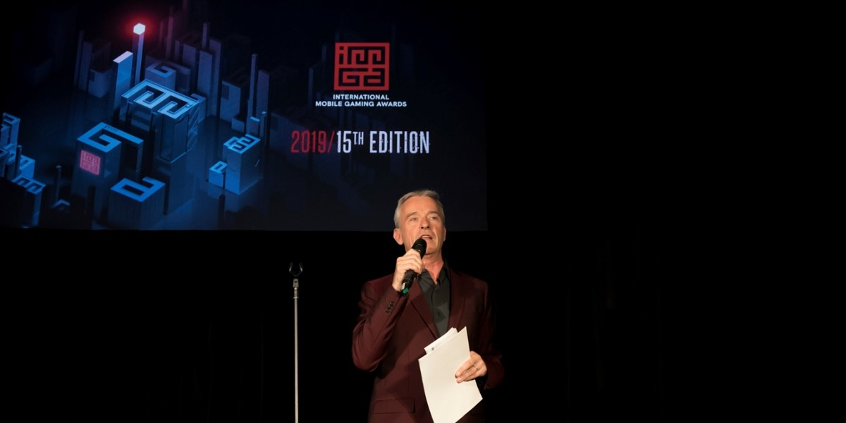 Maarten Noyons is the founder of the International Mobile Game Awards.