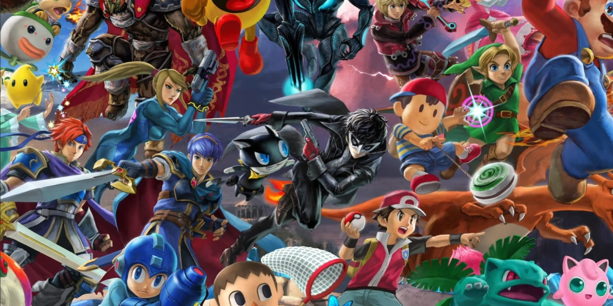 Joker in Super Smash Bros. Ultimate.