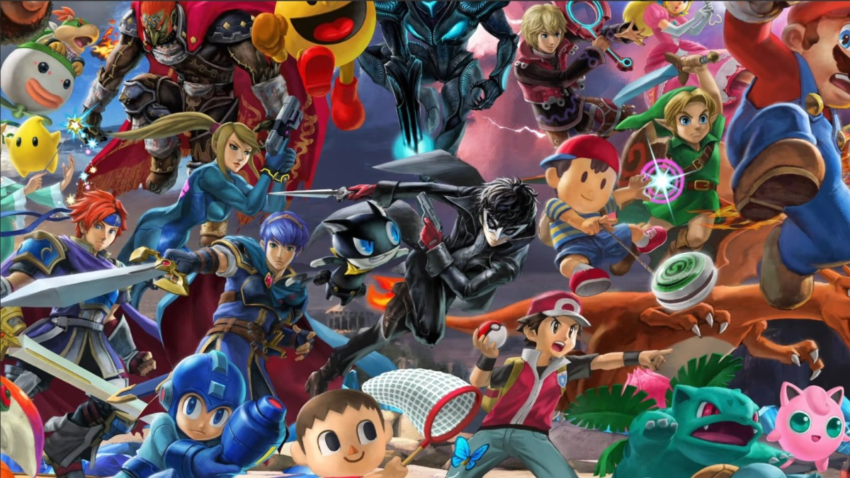 Super Smash Bros. Ultimate Adds Persona 5's Joker, Stage Builder, and Video Editing on April 17