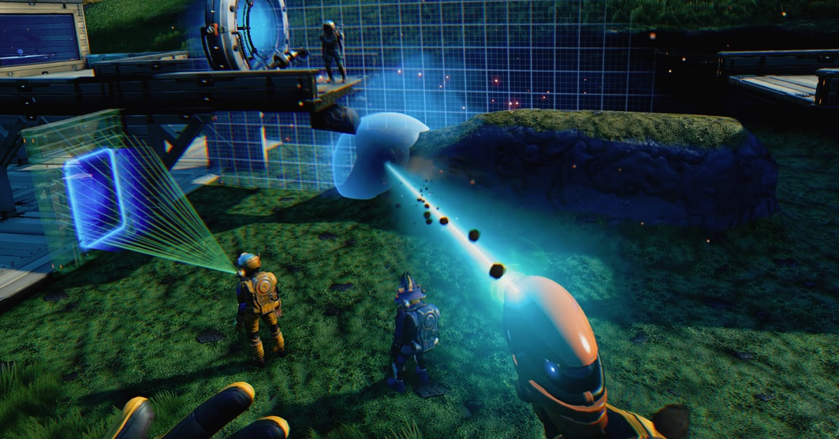 No Man's Sky Beyond VR hands-on -- A huge galaxy in virtual