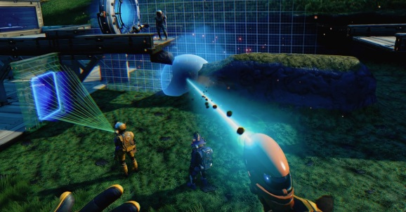 No Man's Sky Beyond VR lets you do all that you can do in the PS 4 game.