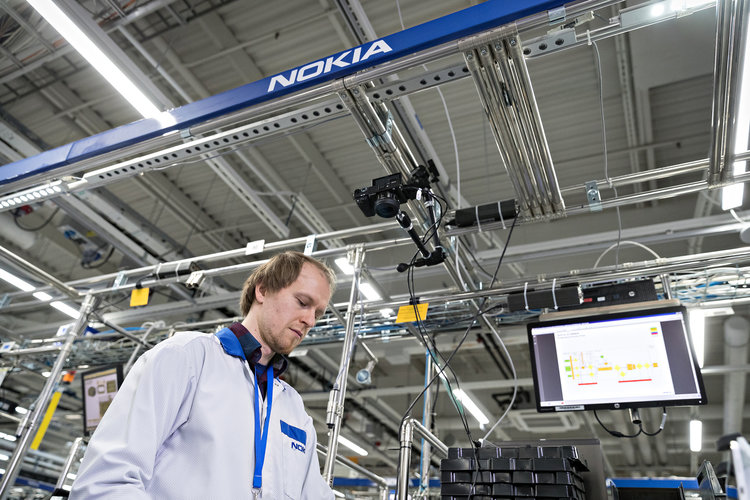 Inside Nokia's factory of the future: Robots, data, automation, 5G