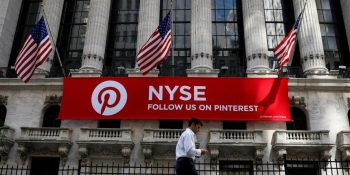 Pinterest shares rise 28% on first day of trading, worth $13 billion