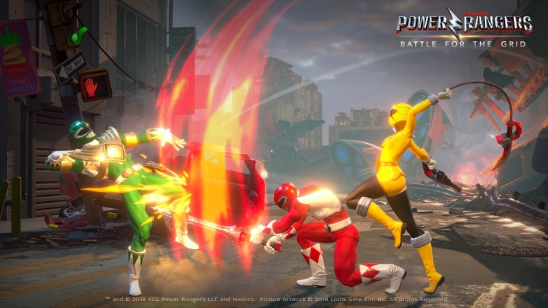 Power Rangers: Battle for the Grid has a new story mode.