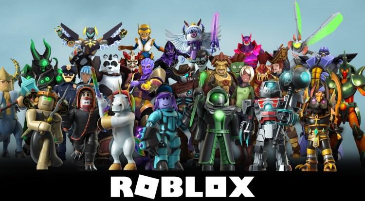 Roblox avatar lineup.