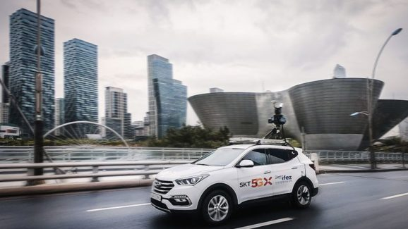SK Telecom will use 5G to build centimeter-level accurate city maps