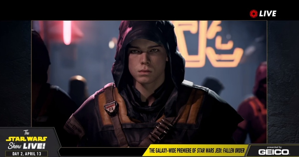 Cal is the hero of Star Wars: Jedi Fallen Order.