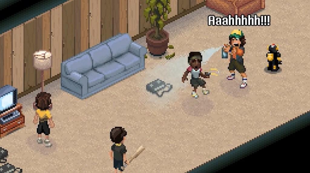 Una escena de Stranger Things 3: The Game.