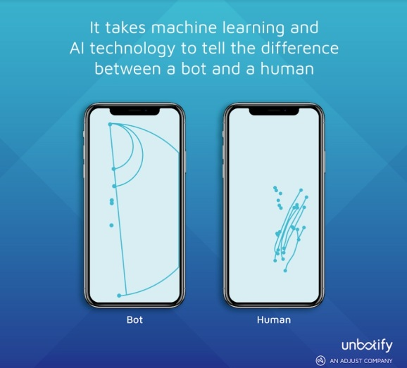 Adjust's Unbotify can distinguish between bots and humans.
