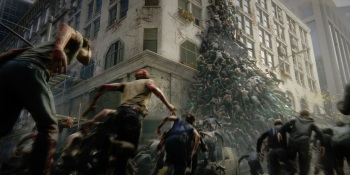 Zombies swarm in smart ways in World War Z.