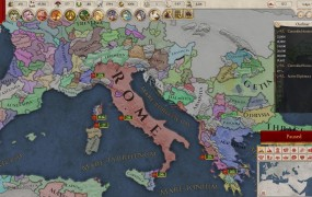 The rise of Rome in Imperator