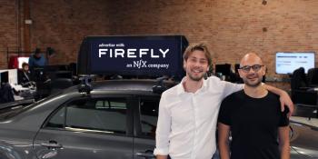 Firefly raises $30 million to put electronic ads on ride-hailing cars