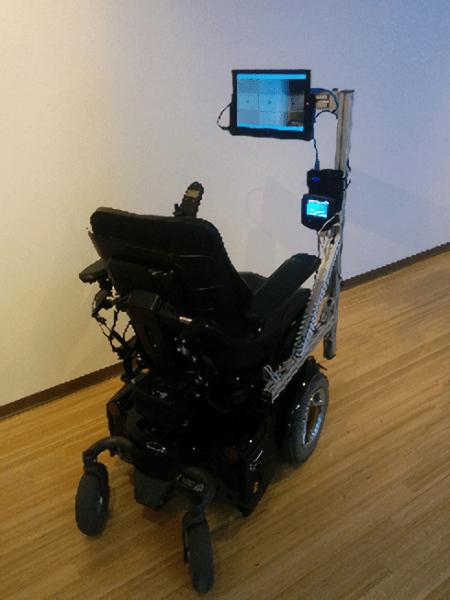 Microsoft Eye Controlled Wheelchair