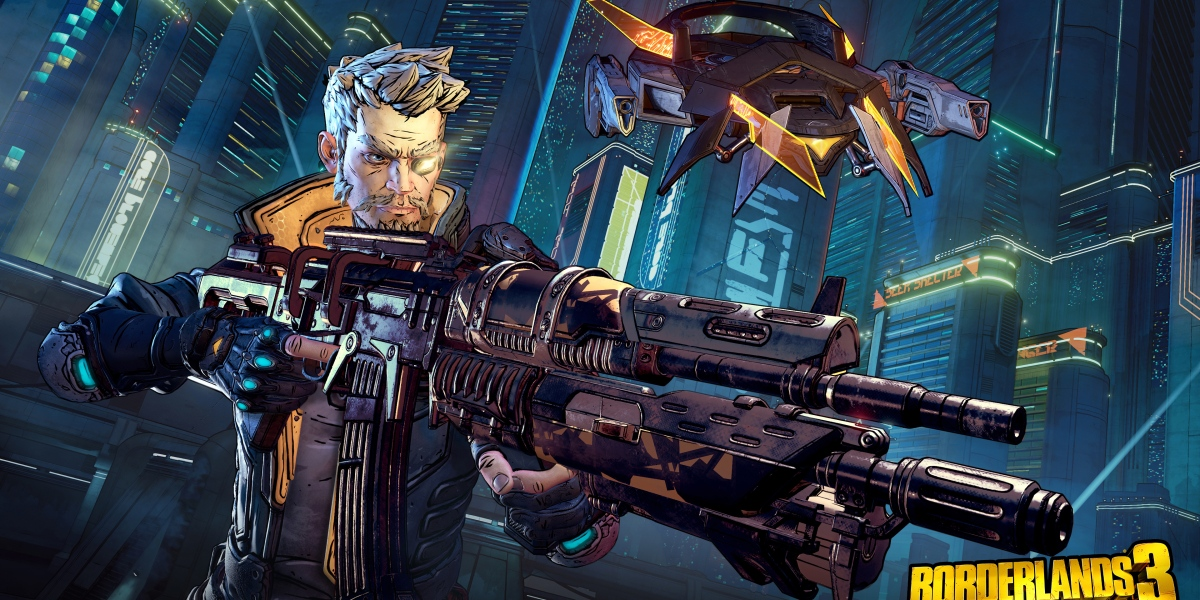 Borderlands 3' distinctive art style returns.