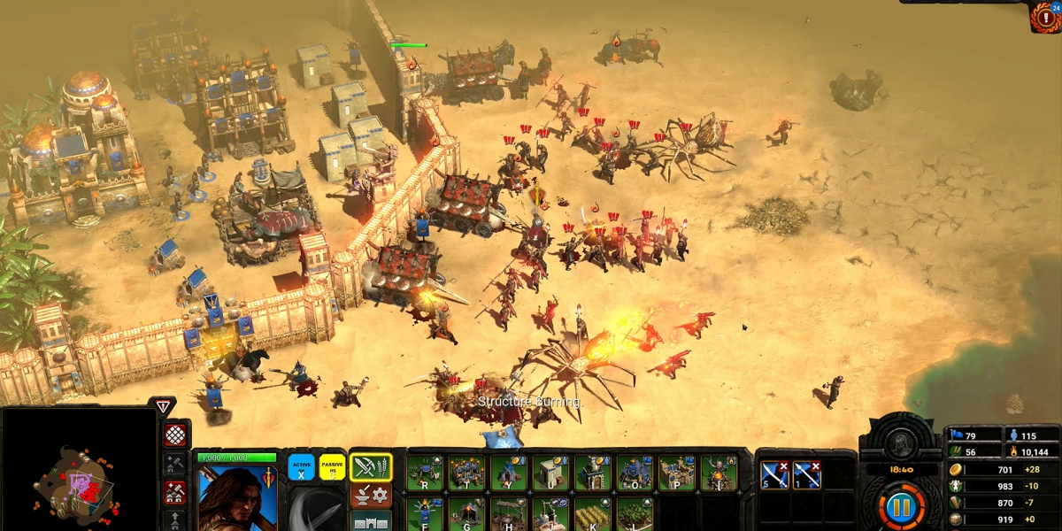 Conan Unconquered takes the barbarian into the RTS realm.