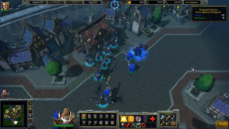 Warcraft III: Reforged.