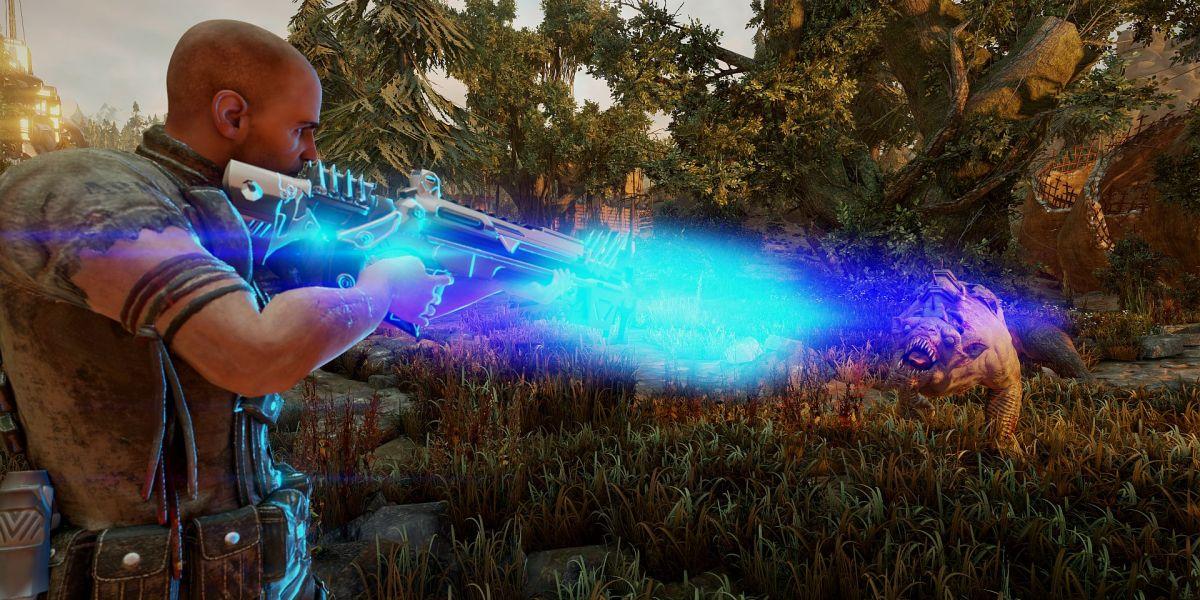 Piranha Bytes's Elex, a sci-fi action RPG.