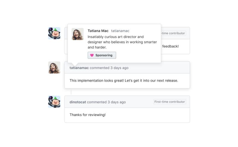 GitHub Sponsors