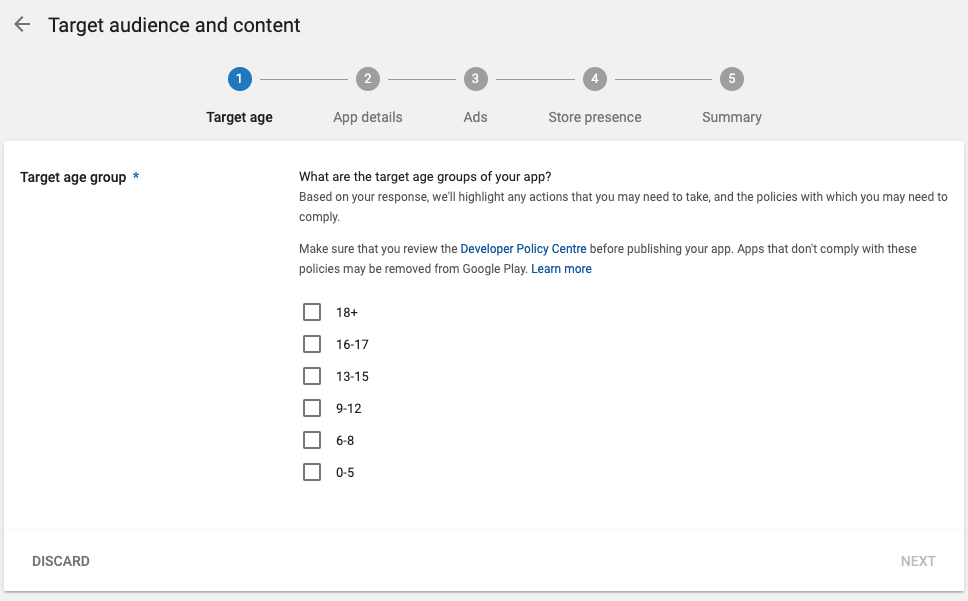 Google asks Android developers to categorize apps based on content