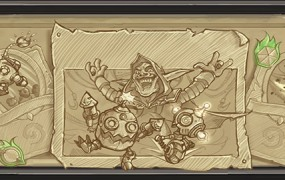 Dr. Boom welcomes you to Rise of the Mech, a month-long Hearthstone event.