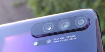 Honor 20 Pro: Quad lens camera