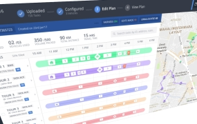 Locus dashboard: Route optimization