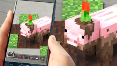 At 10, Minecraft hits 176 million sales and announces AR